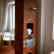 Small masonry heater video