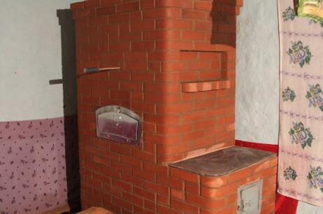 Finished masonry stove