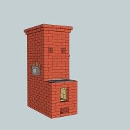 Sketchup for masonry heater